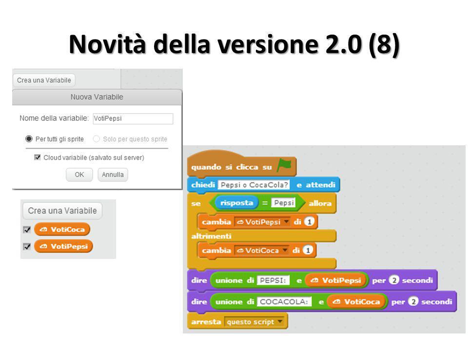 Novità della versione 2.0 (8)