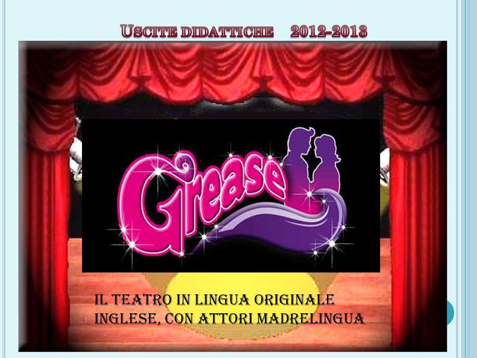 Il teatro in lingua originale inglese, con attori madrelingua
