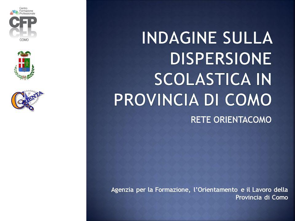 RETE ORIENTACOMO Agenzia per la Formazione, l'Orientamento e il Lavoro della Provincia di Como