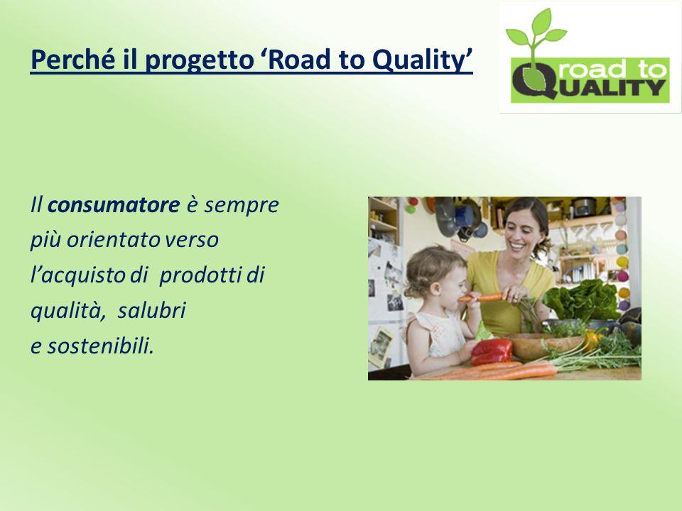 Perché il progetto 'Road to Quality' Il produttore richiede prodotti e soluzioni sempre più performanti.