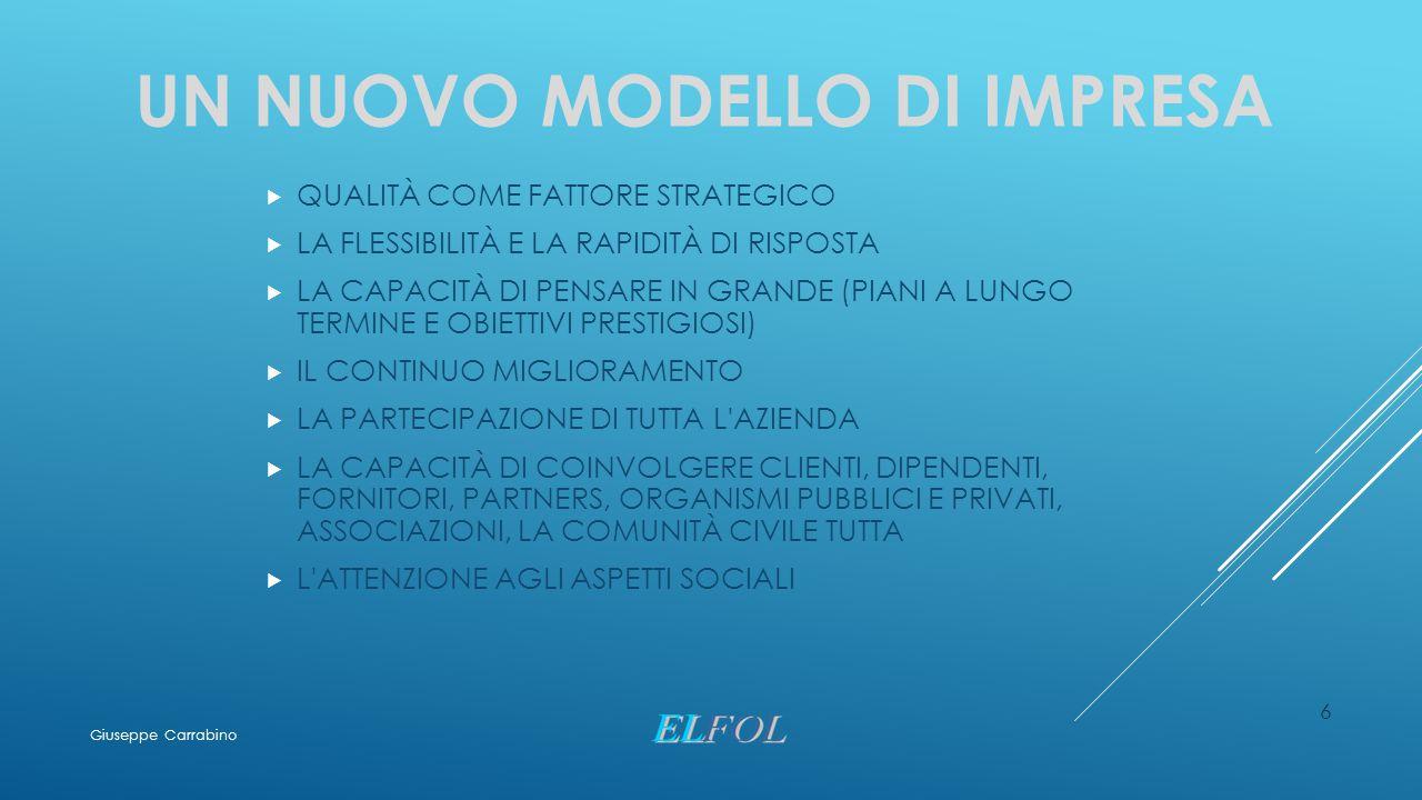 INFRASTRUTTURE - ESEMPI 57 Giuseppe Carrabino
