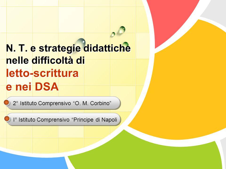 Difficoltà di apprendimento Disturbi specifici dell'apprendimento Disturbo specifico di lettura Disturbo specifico di scrittura D.S.