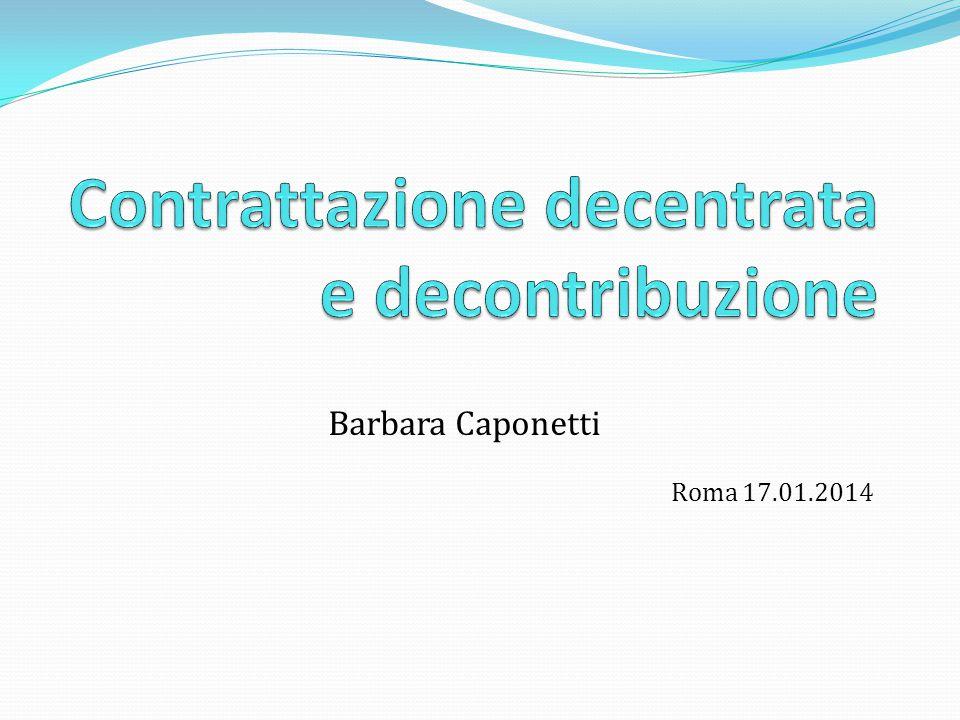 Barbara Caponetti Roma 17.01.2014