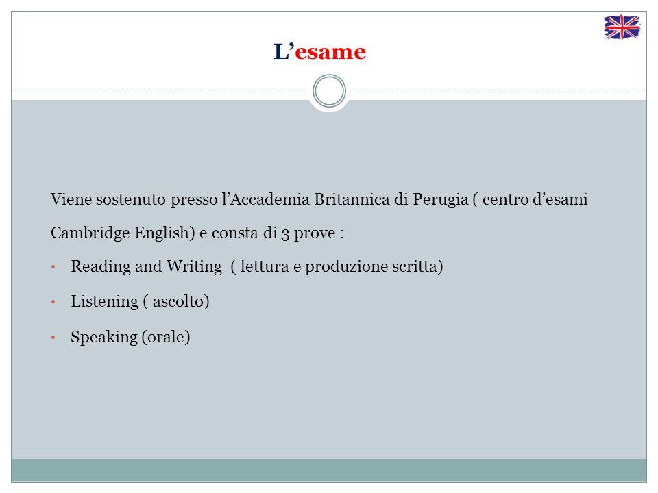 Gli obiettivi del progetto Certificazione KET Sviluppare competenze linguistico-comunicative corrispondenti al livello A2 del Common European Framework of Reference (Quadro comune europeo di riferimento per le lingue).