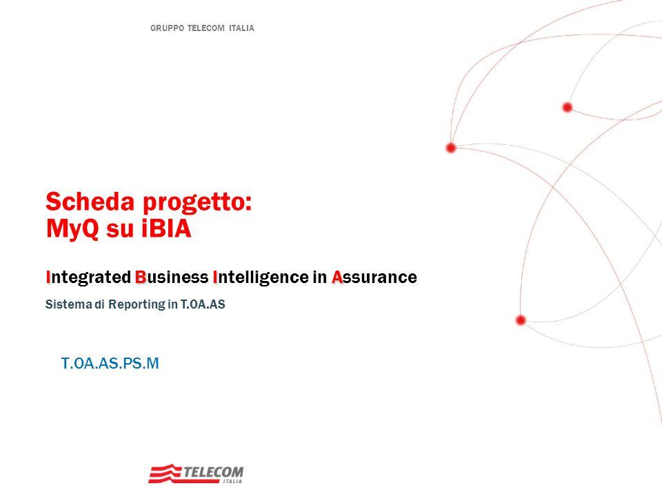 iBIA MyQ Descrizione L'applicazione, mediante KPI dinamici punta a migliorare l'OCS (One Call Solution) dando visibilità al tecnico della bontà delle attività svolte monitorando degli indicatori chiave.