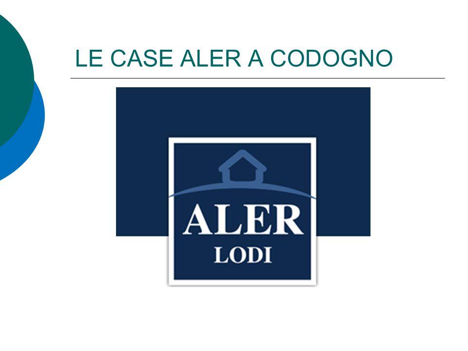 LE CASE ALER A CODOGNO