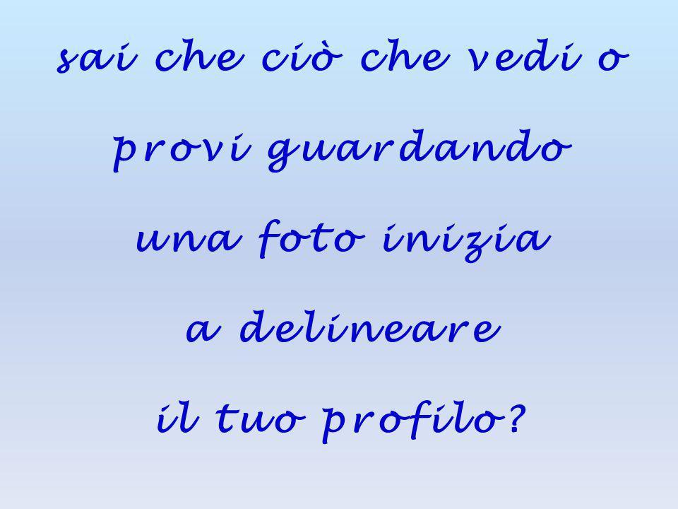 Ti sei mai chiesto chi sei? autore della foto: Claudio Saviola