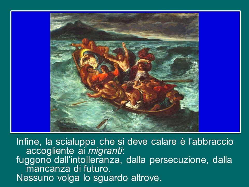 E' un'emergenza storica, che interpella la responsabilità sociale di tutti: come Chiesa, aiutiamo a non cedere al catastrofismo e alla rassegnazione,