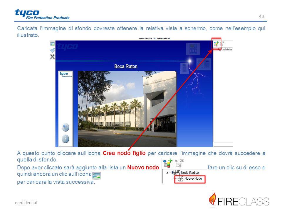 confidential Caricata l'immagine di sfondo dovreste ottenere la relativa vista a schermo, come nell'esempio qui illustrato. A questo punto cliccare su