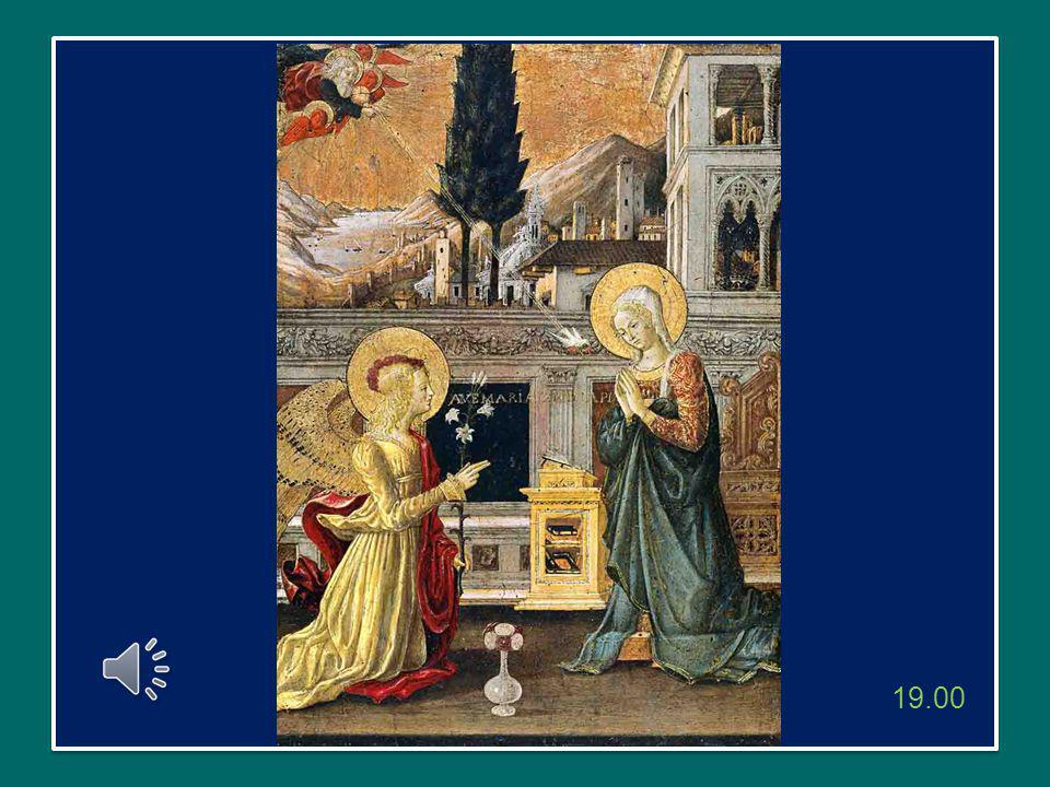 Siamo raccolti qui attorno a Cristo che, dall'alto del mosaico, ci guarda con occhi teneri e profondi, insieme con la Vergine Maria, che cinge con il suo braccio.