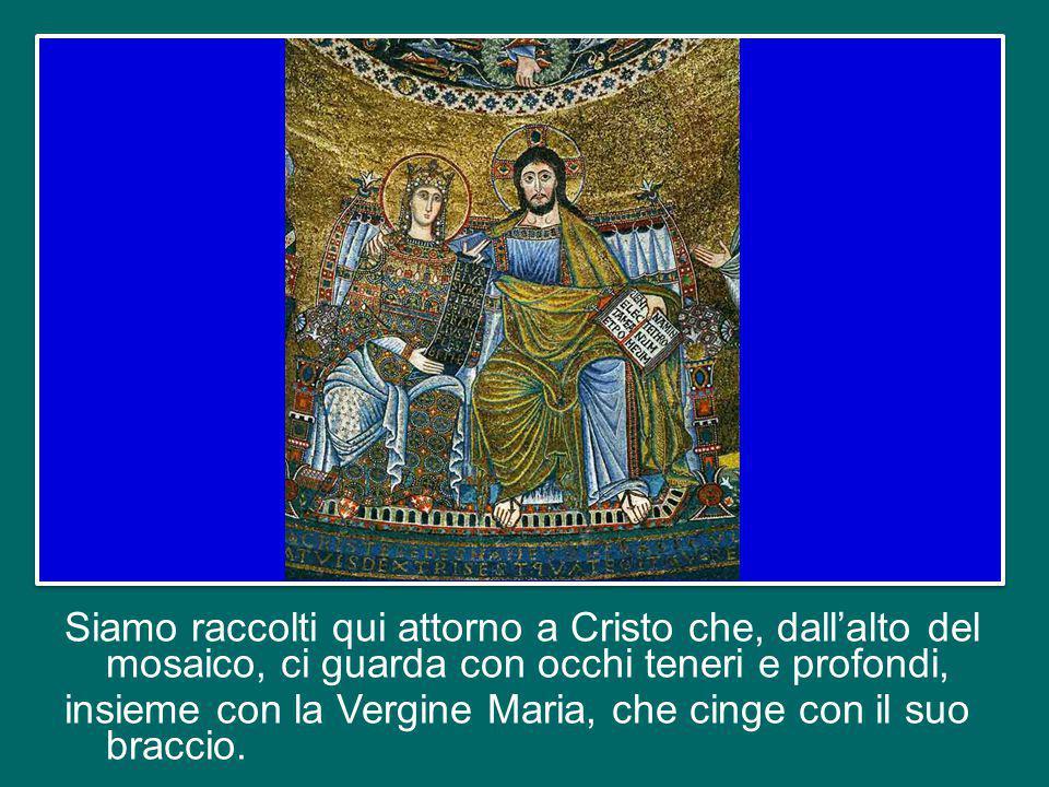 Cari amici, vengo a visitare la Comunità di Sant'Egidio qui a Trastevere, dove è nata.