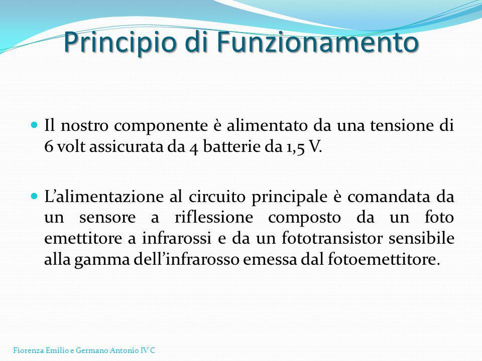 Lo schema Elettronico Fiorenza Emilio e Germano Antonio IV C