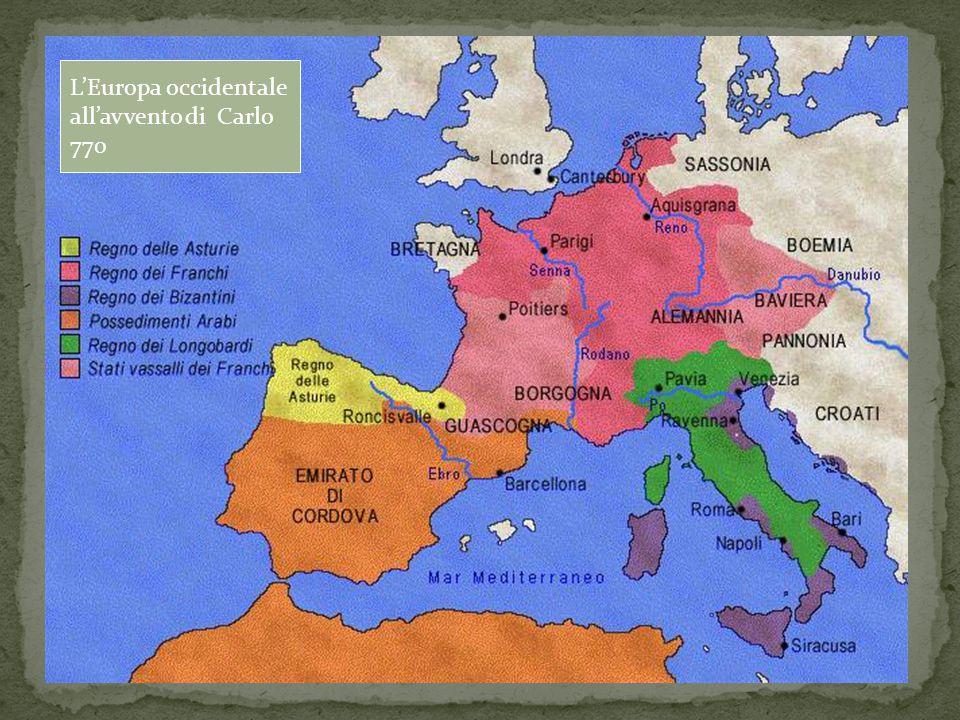 L'Europa occidentale all'avvento di Carlo 770