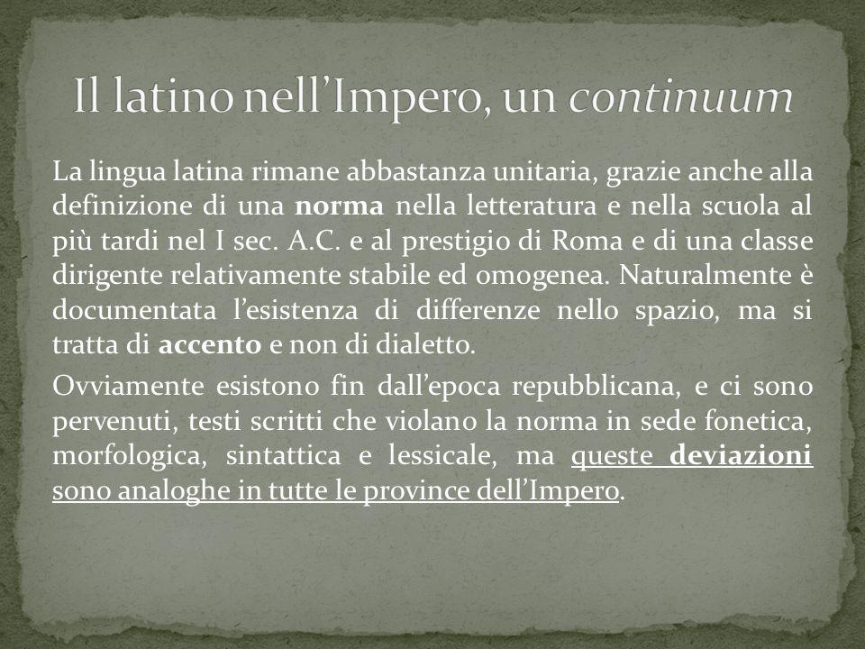  Indovinello veronese: 780 Nord-Est (Verona)  Graffito di Commodilla: Roma, IX sec.