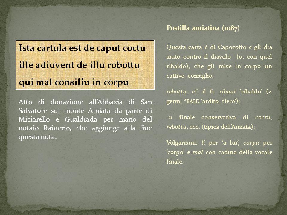 Questa carta è di Capocotto e gli dia aiuto contro il diavolo (o: con quel ribaldo), che gli mise in corpo un cattivo consiglio. rebottu: cf. il fr. r