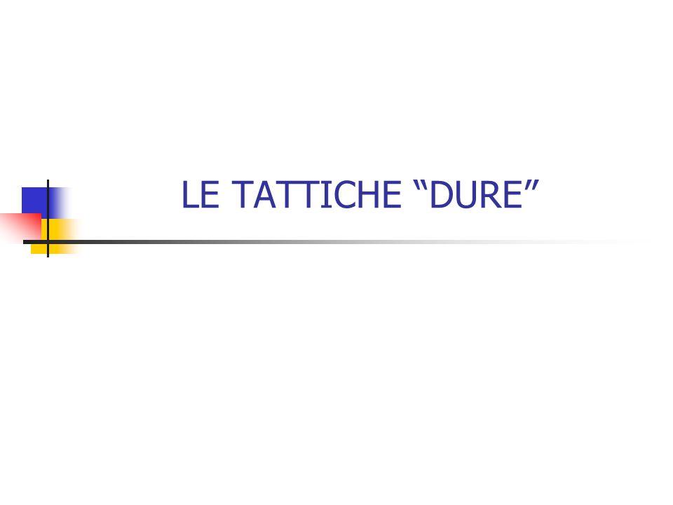 LE TATTICHE DURE