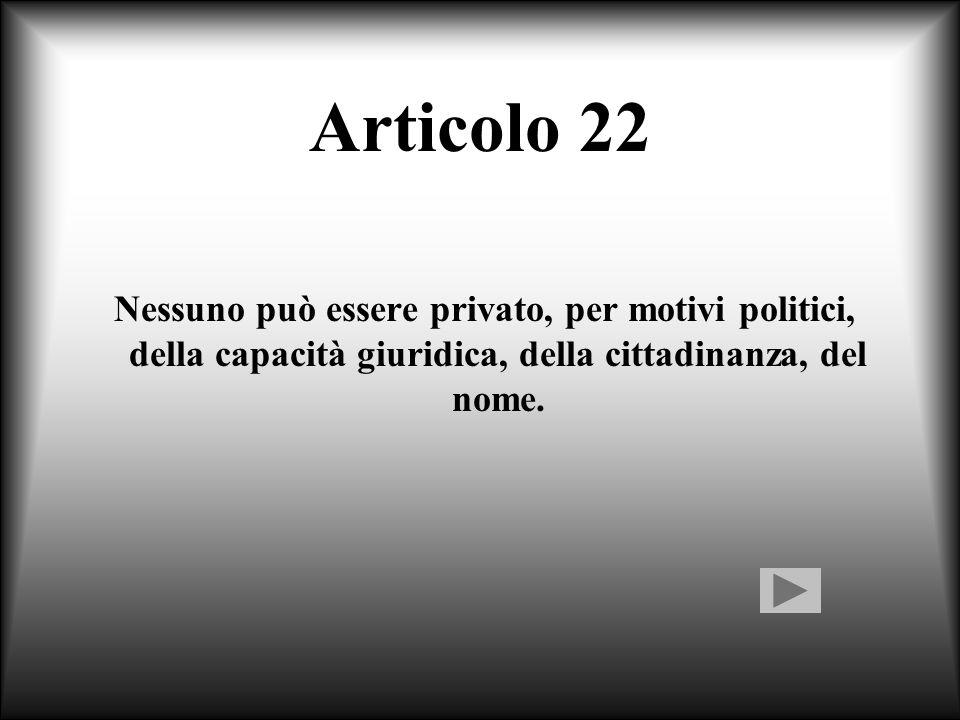 Commento all'articolo 21 L'unica forma di censura preventiva è quella attuata dalla speciale Commissione Ministeriale per gli spettacoli cinematografi