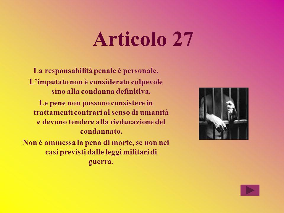 Commento all'articolo 23 Non si esclude che il cittadino venga obbligato a fare qualcosa o a pagare (difficilmente, in caso contrario, si potrebbe far