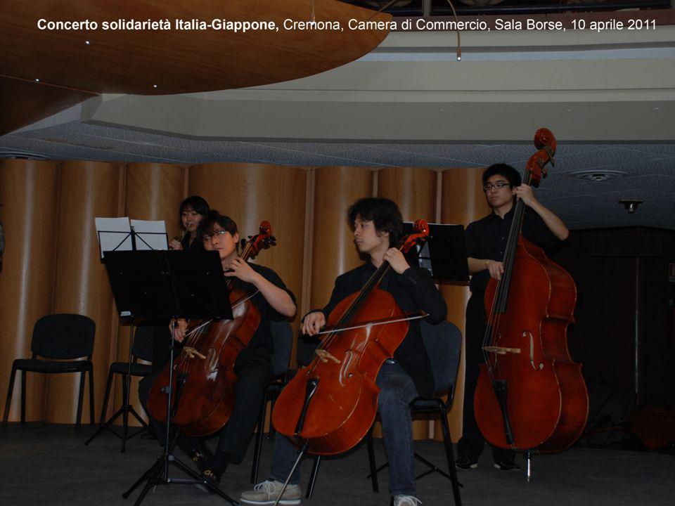 4.ESPERIENZA MUSICALE A SCUOLA Presentazione del progetto «Studi and training programs for English Language- Palazzo Stanga», gennaio 2011 Inaugurazio