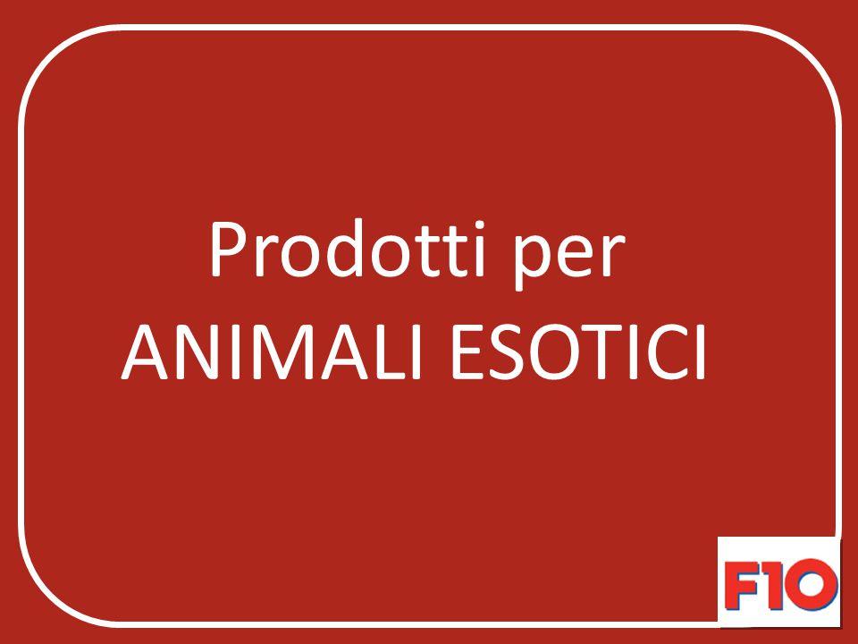 Prodotti per ANIMALI ESOTICI