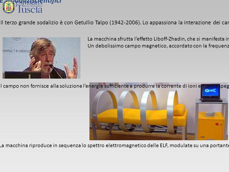 Il terzo grande sodalizio è con Getullio Talpo (1942-2006).