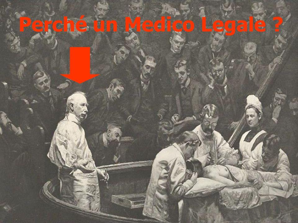 Perché un Medico Legale ?