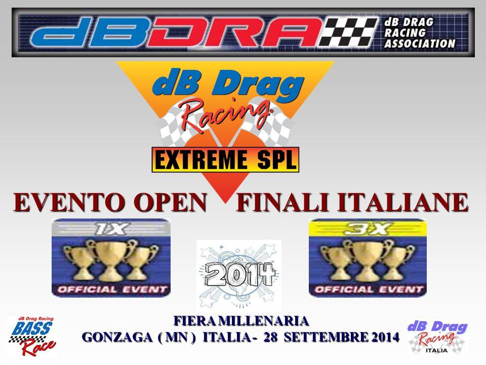 EVENTO OPEN FINALI ITALIANE FIERA MILLENARIA GONZAGA ( MN ) ITALIA - 28 SETTEMBRE 2014