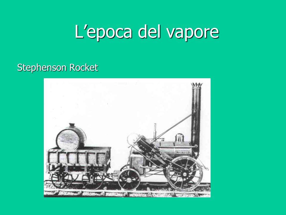 L'epoca del vapore Stephenson Rocket