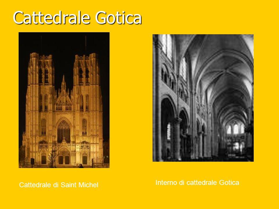 Cattedrale Gotica Cattedrale di Saint Michel Interno di cattedrale Gotica