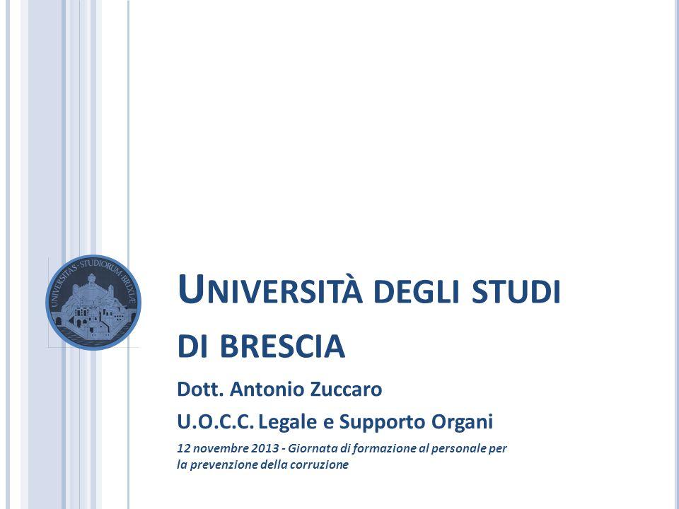 LEGGE 190 DEL 6 NOVEMBRE 2012 (GU N.