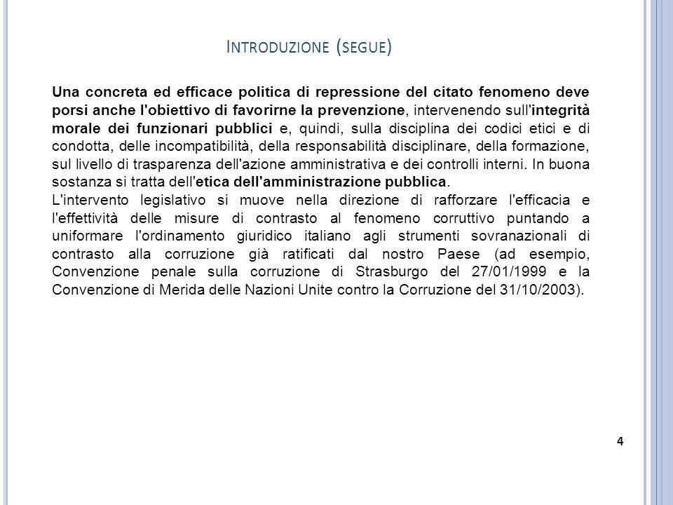 Il comma 46 introduce l articolo 35bis al D.Lgs.n.