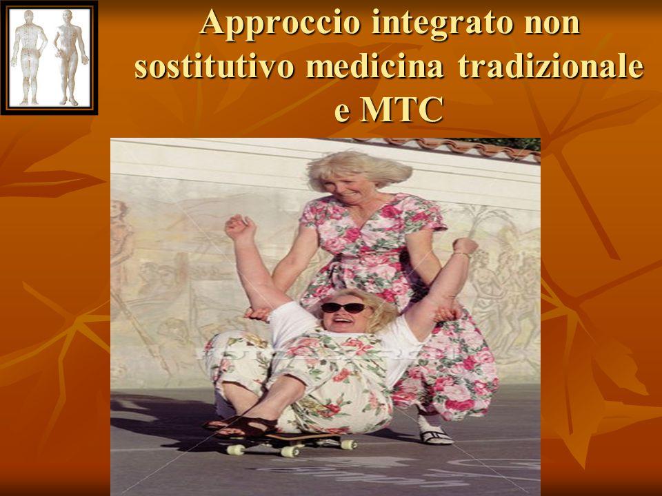 Approccio integrato non sostitutivo medicina tradizionale e MTC