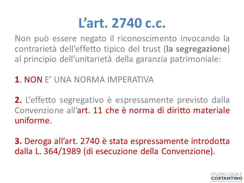L'art.2740 c.c.