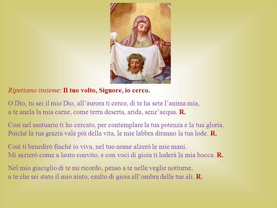 Dagli scritti di Madre Teresa Ti ho trovato in tanti posti, Signore.