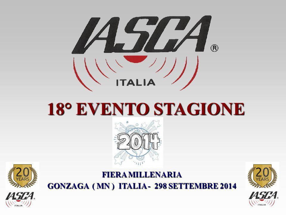 FIERA MILLENARIA GONZAGA ( MN ) ITALIA - 298 SETTEMBRE 2014 18° EVENTO STAGIONE