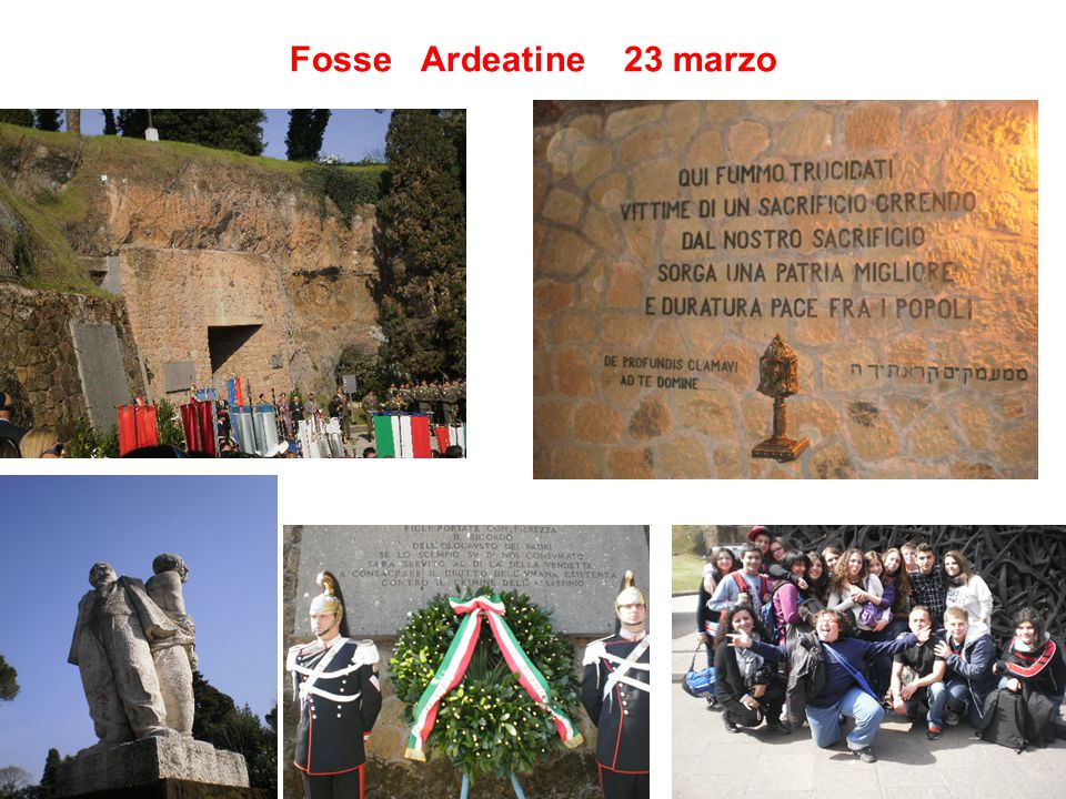 Fosse Ardeatine 23 marzo