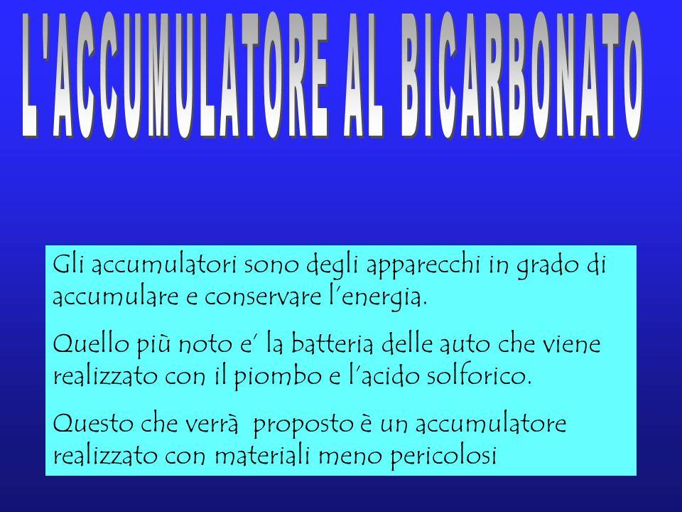 Gli accumulatori sono degli apparecchi in grado di accumulare e conservare l'energia.
