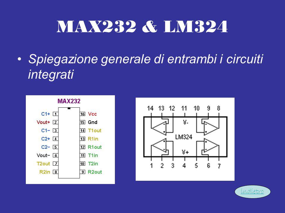 MAX232 & LM324 Spiegazione generale di entrambi i circuiti integrati indietro