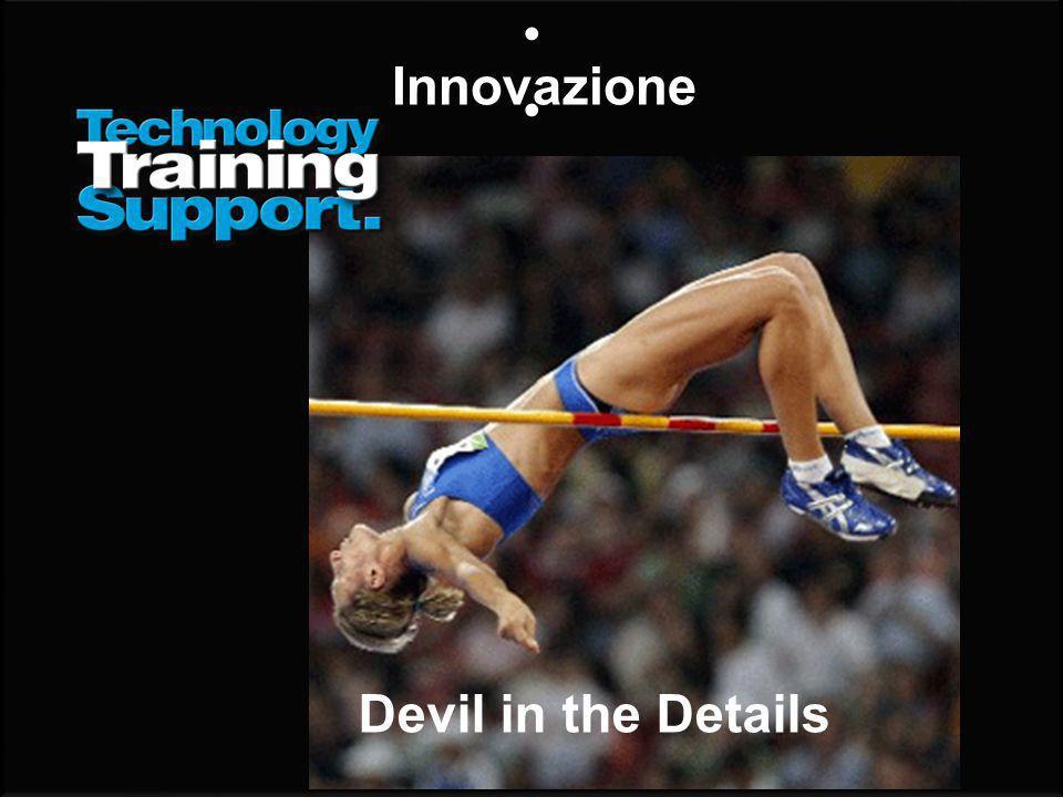 Innovazione Devil in the Details