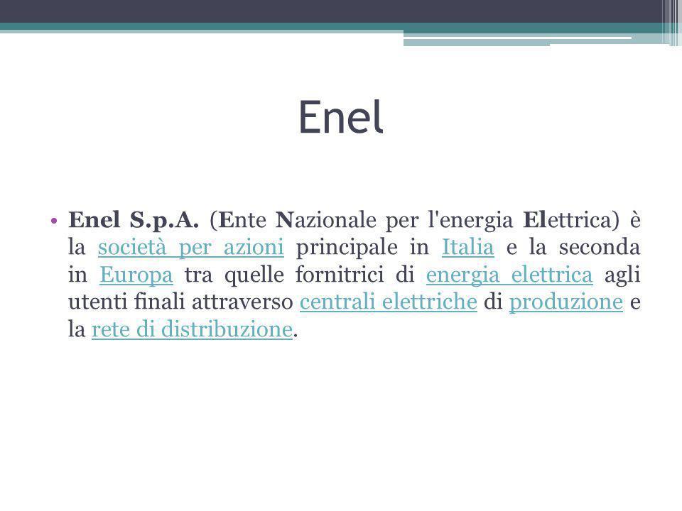 Enel Enel S.p.A.