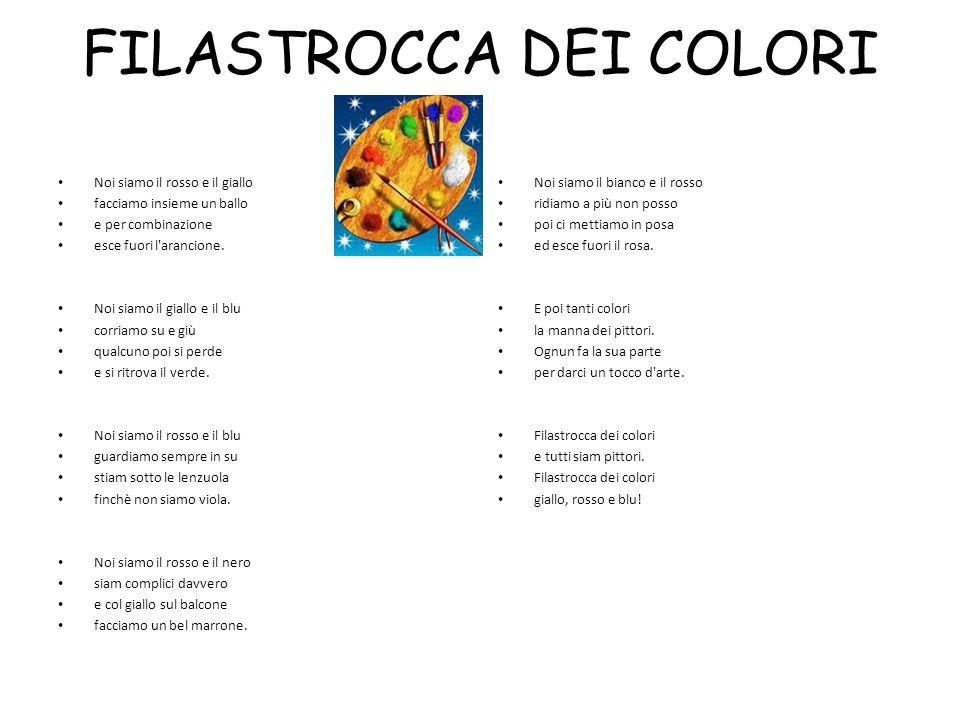 Filastrocca dei colori.