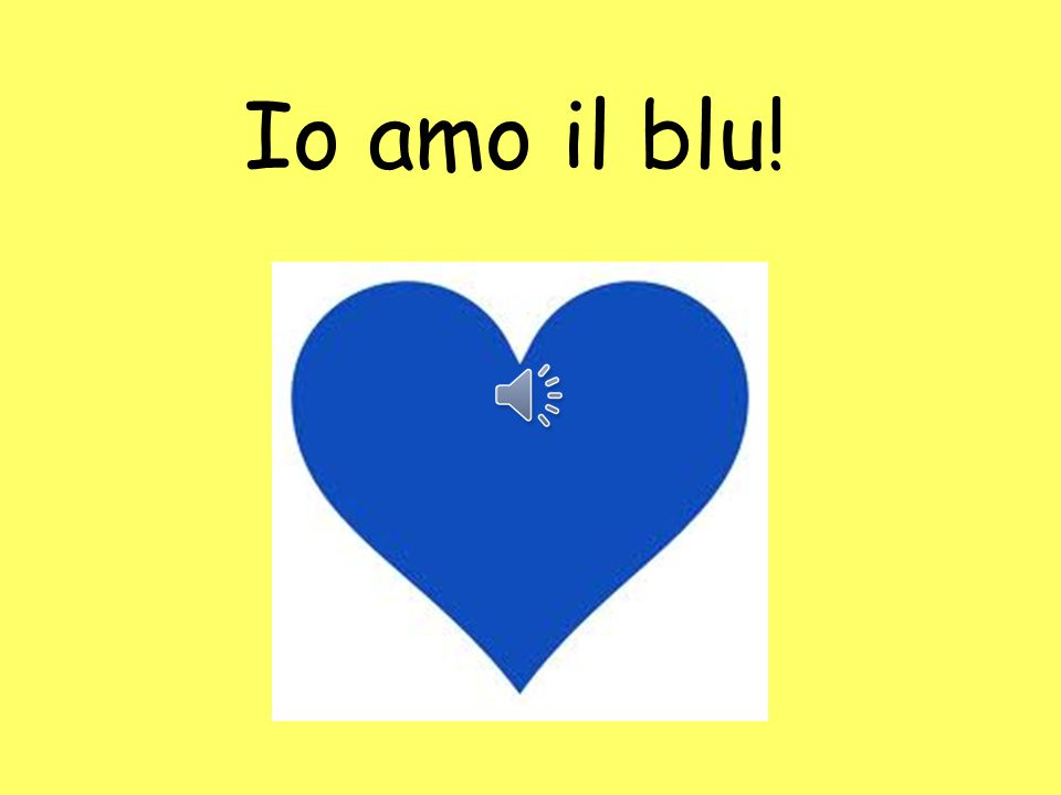 Ti piace il blu