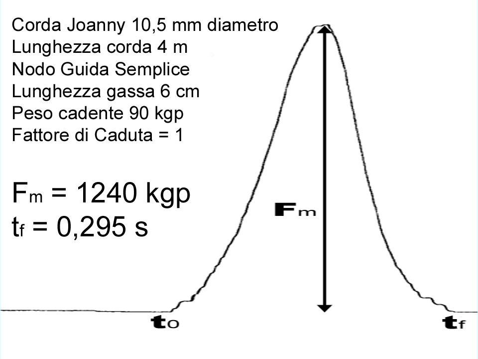 Carico di Rottura Moschettoni F r e Velocità di Deformazione V d
