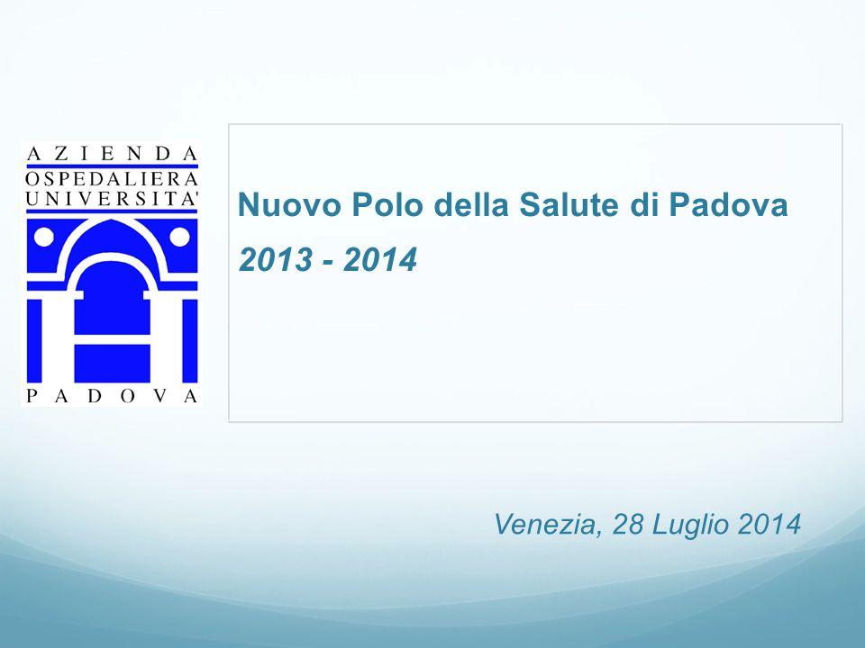 Nuovo Polo della Salute di Padova 2013 - 2014 Venezia, 28 Luglio 2014