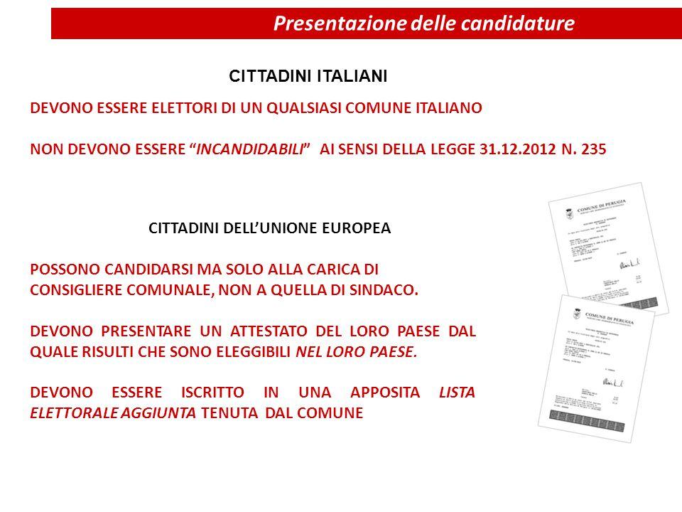 CITTADINI ITALIANI POSSONO CANDIDARSI MA SOLO ALLA CARICA DI CONSIGLIERE COMUNALE, NON A QUELLA DI SINDACO. DEVONO PRESENTARE UN ATTESTATO DEL LORO PA