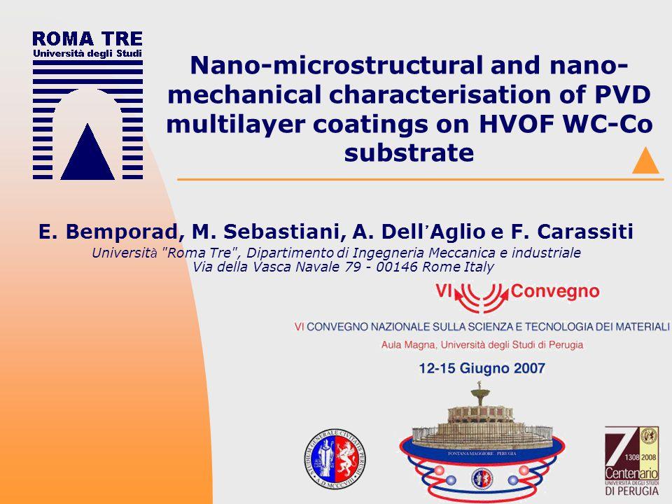 VI convegno INSTM Perugia 12-15 Giungo 2007 E.