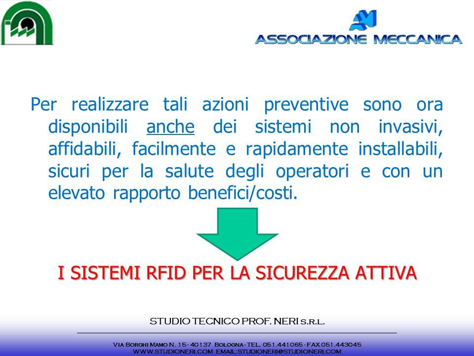 Per realizzare tali azioni preventive sono ora disponibili anche dei sistemi non invasivi, affidabili, facilmente e rapidamente installabili, sicuri p