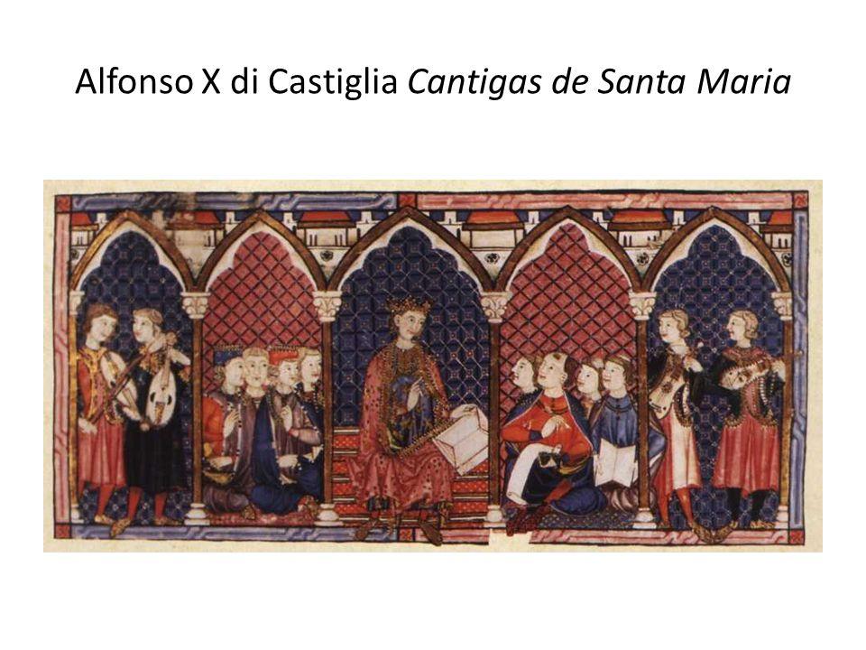 Alfonso X di Castiglia Cantigas de Santa Maria