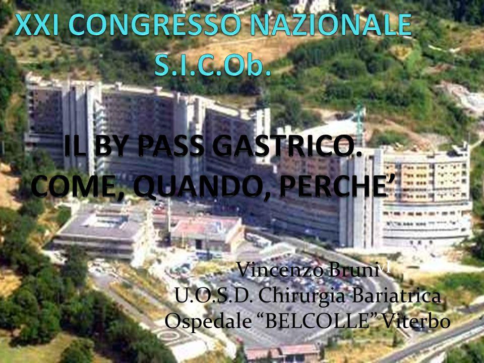 "vI Vincenzo Bruni U.O.S.D. Chirurgia Bariatrica Ospedale ""BELCOLLE"" Viterbo"