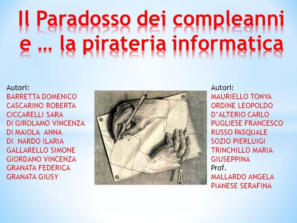 Autori: BARRETTA DOMENICO CASCARINO ROBERTA CICCARELLI SARA DI GIROLAMO VINCENZA DI MAIOLA ANNA DI NARDO ILARIA GALLARELLO SIMONE GIORDANO VINCENZA GRANATA FEDERICA GRANATA GIUSY Autori: MAURIELLO TONYA ORDINE LEOPOLDO D'ALTERIO CARLO PUGLIESE FRANCESCO RUSSO PASQUALE SOZIO PIERLUIGI TRINCHILLO MARIA GIUSEPPINA Prof.